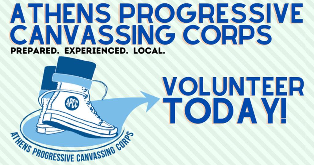 Volunteer canvassing opportunities